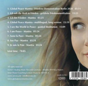 I am Peace - Global Peace Mantra - Wivvica Matern CD jetzt kaufen Lieder und Inhalt